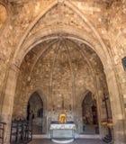 Interior of Filerimos monastery Stock Photo