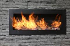 Interior fireplace Royalty Free Stock Photos