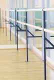 Interior of a fitness or dance hall Stock Photography