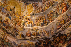 Interior Florence Duomo Royalty Free Stock Images