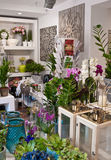 Interior of a flower shop Royalty Free Stock Image