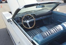 Interior of 1968 Ford Torino Convertible Royalty Free Stock Images