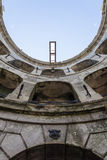 Interior of Fort Boyard - France Royalty Free Stock Images