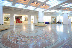 Interior in foyer of the Central Academic Theatre Royalty Free Stock Images