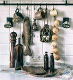 Interior, fragment, kitchen Stock Images