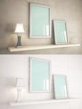 Interior Frame mock-up Stock Images