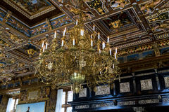 Interior of the Frederiksborg Castle, Denmark Royalty Free Stock Photography