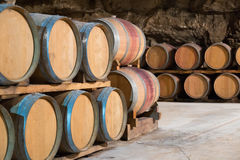 Interior of french winery Royalty Free Stock Photography