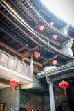 Interior of Fujian tulou Stock Photos