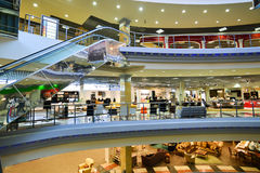 Interior Furniture shopping complex Grand. Furniture shopping mall GRAND - the largest specialty s Stock Image