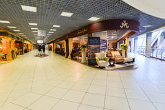 Interior Furniture shopping complex Grand. Furniture shopping mall GRAND -  largest specialty shop Royalty Free Stock Photography