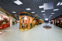 Interior Furniture shopping complex Grand. Furniture shopping mall GRAND -  largest specialty shop. MOSCOW, RUSSIA - MARCH 05 2015: Interior Furniture shopping Stock Image