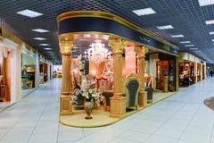 Interior Furniture shopping complex Grand. Furniture shopping mall GRAND -  largest specialty shop Stock Photos