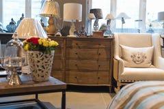 Interior furniture store. Elegant living room furniture store Royalty Free Stock Image