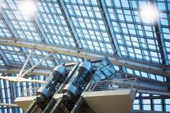 Interior futurista Imágenes de archivo libres de regalías