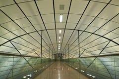 Interior futurista. Fotografia de Stock