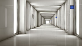 Interior futurista Foto de Stock