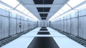 Interior futurista Fotos de archivo