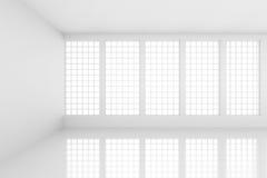Interior futurista Imagem de Stock