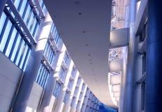 Interior futurista do edifício Fotografia de Stock