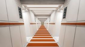 Interior futuristic design concept Royalty Free Stock Images