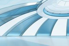 Interior futuro do estilo imagens de stock royalty free