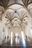 Interior gótico de Llotja do La Imagens de Stock