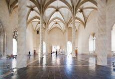 Interior gótico de Llotja do La Fotografia de Stock