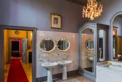 Interior of Gaasbeek Castle in Brussels Belgium Stock Photos