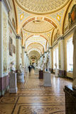 Interior gallery of ancient art, the State Hermitage Museum, St. Stock Images