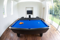 Interior Of Games Room In Modern House Royalty Free Stock Image