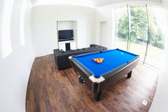 Interior Of Games Room In Modern House Stock Image