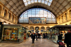 Interior of Gare de l'Est Stock Photo
