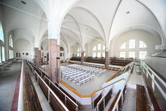 Interior German Saint Peter's church Stock Photo