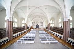 Interior German Saint Peters church Royalty Free Stock Photos