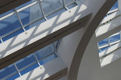 Interior of The Getty Center - Los Angeles Royalty Free Stock Images