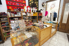 Interior of gift store Stock Image