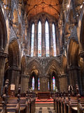 Interior of Glasgow Cathedral Stock Image