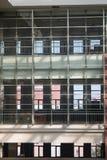 Interior glass walls Stock Image