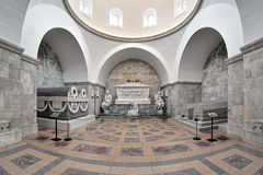 Interior of Glucksburger Chapel in Roskilde Cathedral, Denmark Stock Images