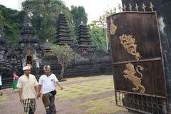 Goa Lawah Bat Cave temple, Bali, Indonesia Stock Images