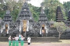 Goa Lawah Bat Cave temple, Bali, Indonesia Royalty Free Stock Photography