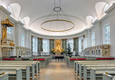 Interior of Gothenburg Cathedral, Sweden Royalty Free Stock Photo