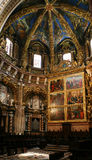 The Interior of the Gothic Cathedral Royalty Free Stock Photo