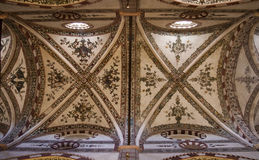 Interior of gothic church in Verona Royalty Free Stock Image