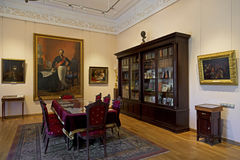 Interior of The Governor house in Yaroslavl, Russia. Royalty Free Stock Photo