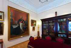Interior of The Governor's house in Yaroslavl Royalty Free Stock Photo