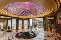 Interior of The Grand Avenue Mall in Kuwait Royalty Free Stock Image