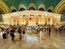 Interior of the Grand Central Terminal in New York Stock Image