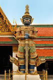 Interior of the Grand Palace in Bangkok. Royalty Free Stock Image